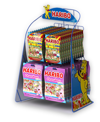 Display de Balcão Haribo