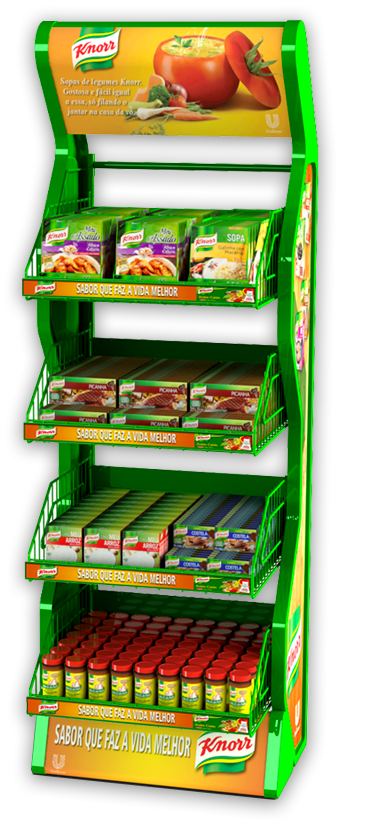 Display de Chão Knorr