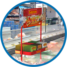 Display para Freezer Ajinomoto